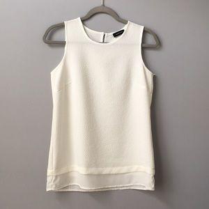 Spense white blouse tank